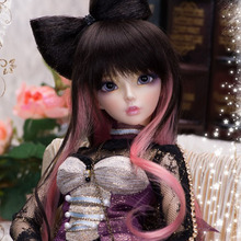 OUENEIFS Fairyland minifee Celine 1/4 bjd sd dolls model reborn girls boys eyes High Quality toys makeup shop resin(China)