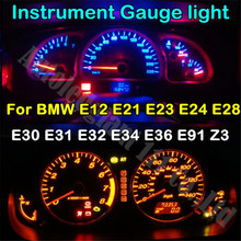 WLJH T10 6 Colors 194 Led 12V Light Dashboard Instrument Gauge Light Bulb For BMW E91 E36 E34 E12 E21 E23 E24 E28 E30 E31 E32 Z3(China)