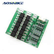 Aoshike 100A 3S 18650 Lithium Battery Protection Board Lithium Polymer Battery Charger Balanced Protection Board 11.1V