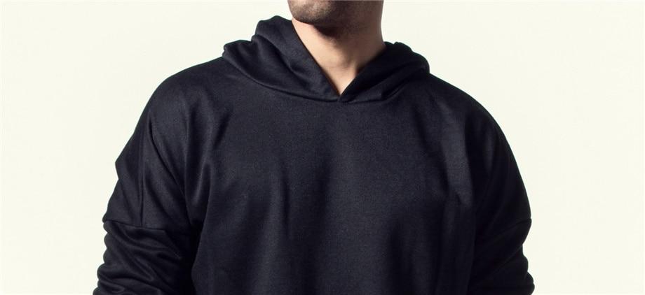 Una Reta Brand New Design Hoodie Men Fashion Sweatshirts Bandage Design Hip-Hop Style Plus Size M-5XL Pullover Sweatshirts Men 14