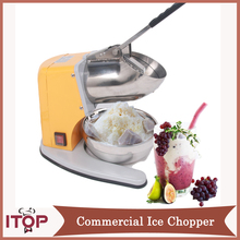 ITOP Commercial Ice Crusher Heavy Duty Commercial Use 220v Electric Snowcone Slush Ice Crusher Shaver Shaving Maker Machine(China)