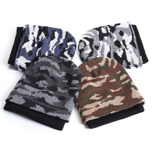 Autumn Winter Style Camouflage Beanies Men and Women Bonnet Caps Toucas Gorros Winter Hat