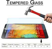 2.5D Protective Tempered Glass Film Samsung Galaxy Note 3 Neo / Lite SM-N7505 SM-N900 N9000 N9005 Screen Protector - Lyn-K Electronic Co., Ltd store