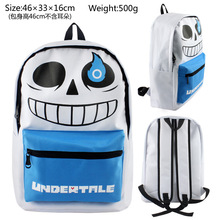 Undertale Sans Game Bag Anime Nylon Backpacks Messenger School Bag Rucksack Students Bag Gift
