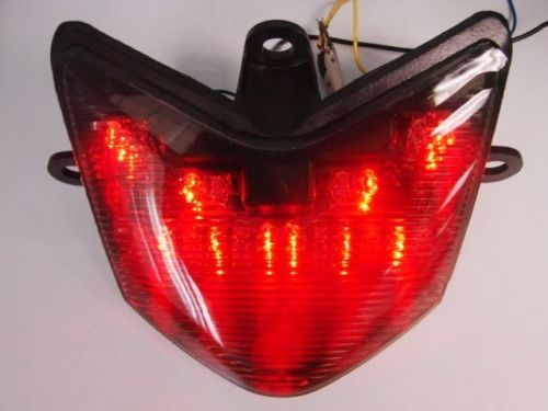 Light-Turn-Signal ZX10 Motorcycle-Break-Lights Ninja Kawasaki 2005 Tail Smoke Rear LED title=