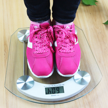 5-180KG LED Bathroom Scale 0.1KG value Digital Body Fat floor Scale Fat Scalesmart weighing For Body Fat Healthy Monitors