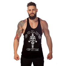 Golds Gyms Clothing Tank Top Men Brand Mens Bodybuilding Clothes Fitness Apparel Body Stringers Street Workout Vest Tops Man(China)