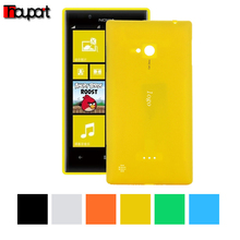 For Nokia Lumia 720 Replace Original back cover Battery case Battery cover PC cases Protector Candy color For Nokia 720