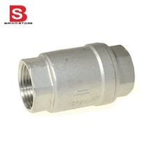 Stainless Steel (304) In Line Spring Check Valve
