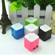 Square lantern mp3 with TF card  small speakers MP3 music player