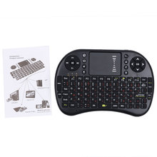 Russian English Version 2.4GHz Mini USB Wireless Keyboard Touchpad Air Mouse Fly Mouse Remote Control for Android Windows PC ps3