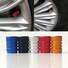 4pcs/set Car Accessories Aluminum 3D Car Wheel Tires Valve Caps Auto Motorcycle Airtight Stem Air Caps For renault ford ope bmw