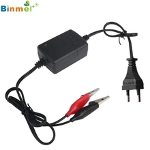 Superior Quality Car Truck Motorcycle 12V Smart Compact Battery Charger Tender Maintainer NEW EU plug Feb21