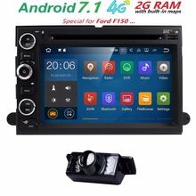4G1024*600 QuadCore Android7.1 Car DVD For Ford Fusion Explorer F650 F150 F450 F350 Edge Expedition Mustang Radio GPS Navigation(China)