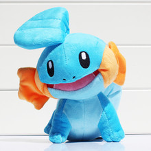 Anime Mudkip Plush Toy  23cm Stuffed Soft Doll Gifts for Kids Free shipping