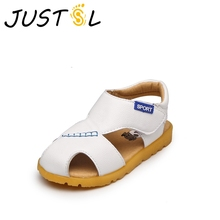 JUSTSL 2017 summer new children's sandals boys casual sandals baby soft bottom fashion school footwear shoes for kids