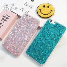 Buy Fashion Bling Shining Powder Sequins Case iPhone 7 6 6S Plus Phone Soft Silicone Glitter Cover Back iPhone 6 7 6S Capa for $1.99 in AliExpress store