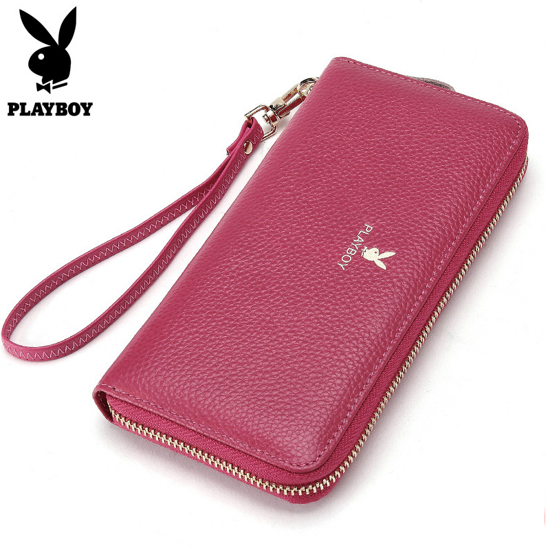 2018 New Women Wallet Long Genuine Leather Ladies Purse Phone Holder Female Clutch Big Capacity For Women Coin Card Purse <br>