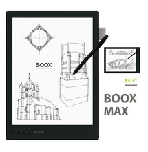 "Shipment From Moscow ONYX BOOX MAX Carta 13.3"" Flexible Screen Ebook 1G/16G Android E-Book Reader Bluetooth+Case+C10 8GB TF card"