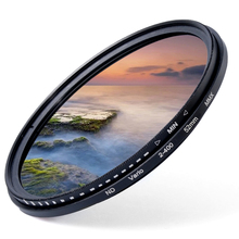 49/52/55/58/62/67/72/77mm Fader Variable ND Filter Neutral Density ND2 to ND400 49mm-77mm for DSLR Camera LF155-LF308