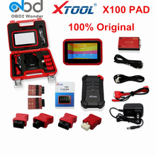 DHL Free Original XTOOL X-100 Pad Auto Key Programmer X100 Pad Same as X300 Pro Car Diagnostic Tool X 100 Support Online Update