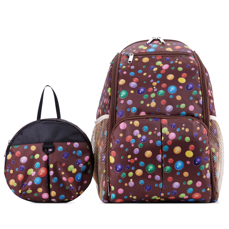 2in1 Big and Small bag Mama Fashion Outdoor Parent-Child Bag Mother bag Insulation Backpack Nappy Bag<br><br>Aliexpress