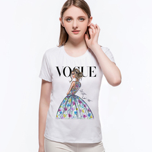 2017 New Arrival Brand Women T Shirt Fashion Girls Summer T Shirt Urban Fashion Princess T-Shirt Kids Tee Tops L9-G1(China)
