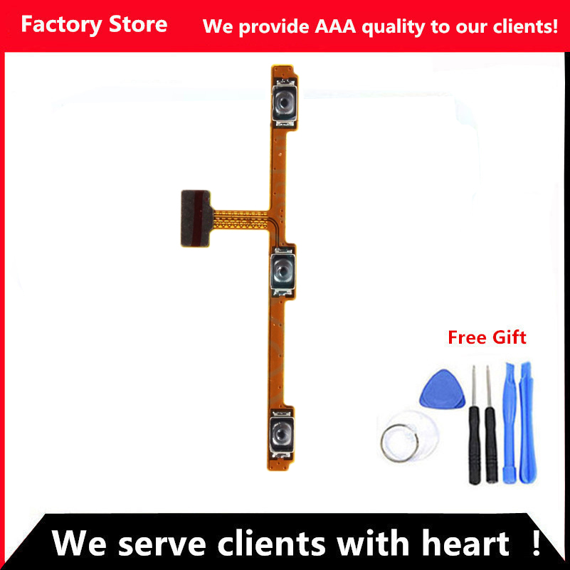 QYQYJOY AAA Quality Phone Flex For Meizu M2 Note Power On/Off + Volume Up/Down button Flex Cable For M2 Note Cell Phone Parts(China (Mainland))