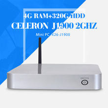 celeron J1900 4g ram+320g hdd+wifi computer networking thin client computer support touch screen desktop computer thin client(China)