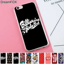 DREAMFOX K030 Billionaire Boys Club Soft TPU Silicone Case Cover For Apple iPhone 8 X 7 6 6S Plus 5 5S SE 5C 4 4S(China)