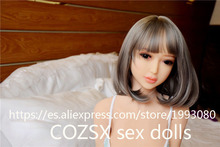 COZSX 125cm real silicone sex dolls adult japanese love doll mini vagina lifelike anime realistic sexy toys for men big breast