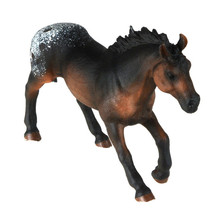 Starz Appaloosa Horse Model PVC Action Figures Animals World Collection Toys Gift for Kids