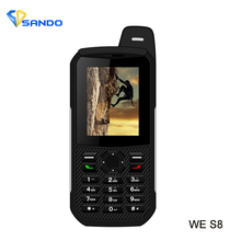 Xeno S8 Waterproof phone Power Bank GSM Super-long standby old man IP68 Rugged shockproof cellphone three sim sonim H6 S6 X1 V3