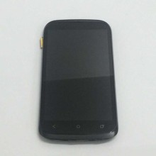For HTC Desire V T328w Full LCD Display Panel Module + Black Touch Screen Digitizer Sensor Assembly Frame(China)