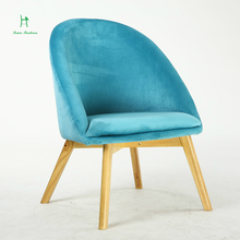 Fashion european-style solid wood small cloth art sofa chair back chair shoes stool chair recreational chair the balcony