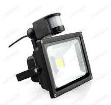 Detector PIR Motion Sensor Security Flood Light Lamp 50W Balcony CAR Park IP65