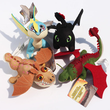 8inch How To Train Your Dragon 2 Toothless Night Fury Skull Crusher Gronkle Meatlug Stormfly Plush toy