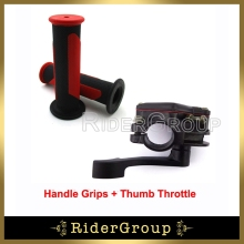 ATV Thumb Throttle Handle Grips For  50cc 70cc 90cc 110cc 125cc 150cc 200cc 250cc Taotao Sunl Kazuma Roketa ATV Quad 4 Wheeler