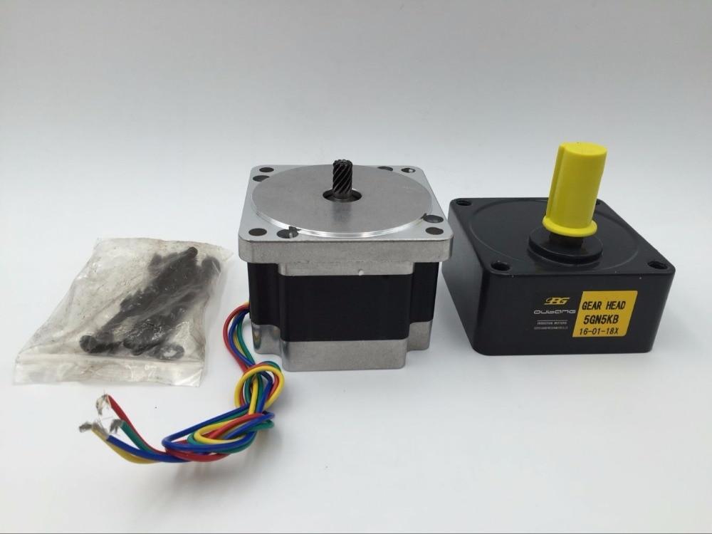 Gear Stepper Motor Ratio 20:1 Nema34 86BYG L 66MM 4A 60NM CNC Router<br><br>Aliexpress
