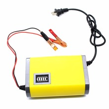 New 12v 6A US Plug Car Battery Charger Fully-automatic Car motorcycle RVs SUV battery charger Adaptor Power Supply Wholesale(China)
