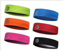 Women Men Hair Bands Headband Anti-slip Elastic Rubber Sweatband Drop Shipping(China)