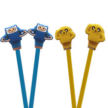 venture Time with jake Adventure Time headphones old skin cartoon dog Po 3.5 mm headsets earphone(China)