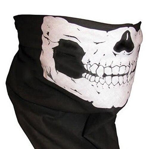 Skull Cycling Muffler Scarf Seamless Scarves Neck Warmer Outdoor Half Face Mask Îäåæäà è àêñåññóàðû<br><br><br>Aliexpress