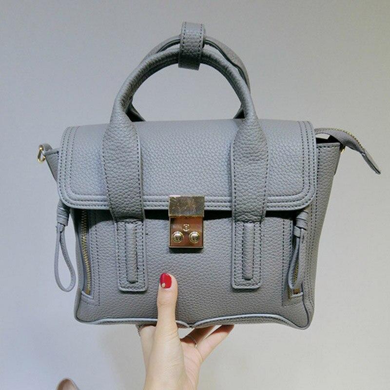 2017 Women Fashion Elegant Shoulder Bag Classic Trend Crocodile Grain PU Leather Handbag Messenger Bag Get Clutch<br><br>Aliexpress