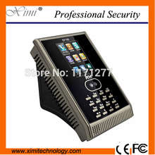 Free shipping TCP/IP biometric clock high-tech camera employee attendance device standalone face time attendance