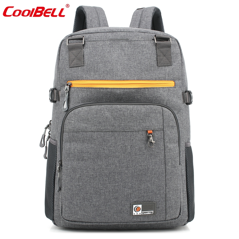 CoolBell 17.6 inch Men women Laptop Backpack Computer Travel Backpack with luggage belt Waterproof Large Notebook Bag<br><br>Aliexpress