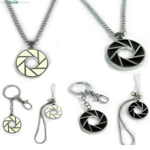 New Japan Anime Portal 2 Pendant necklace Transmission spiral Figure Cosplay necklace Jewelry Llavero Chaveiro bijoux 2017(China)