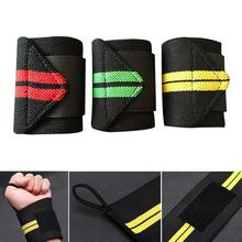 Weight Lifting Training Fitness Gym Sport Wrist Wraps Bandage Hand Support Strap Sporting Goods Protector