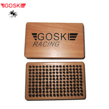 SKI WAX HOUSE HAIR BRUSH TUNING TOOL EQUIMENT FOR SNOWBOARD CLEAN POLISH SCI SPORT  GOSKI