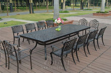 13-piece cast aluminum patio furniture garden furniture Outdoor furniture transport by sea